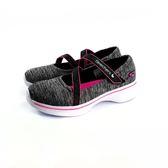 女款 SKECHERS81139LBKHP 輕量透氣 休閒鞋《7+1童鞋》B910 灰色