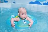 自遊寶貝 嬰兒游泳圈防翻趴圈脖圈寶寶腋下0-6歲自由游泳圈兒童
