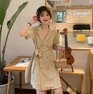 洋氣早春裝2020年新款夏季輕熟風胖mm洋裝子顯瘦大碼女裝減齡潮