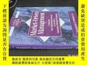 二手書博民逛書店MARKET-DRIVEN罕見MANAGEMENT5919 不詳