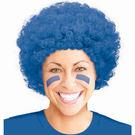 爆炸頭假髮1入-寶石藍