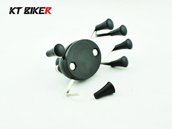 [中壢安信]KT BIKER 單售 KT-1 手機架 止滑套 摩托車 機車 支架 手機架 零件 配件 KTP112