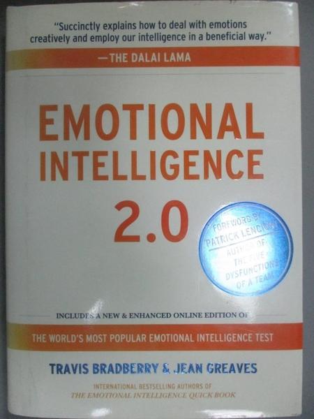 【書寶二手書T8/心理_GBO】Emotional Intelligence 2.0_Bradberry