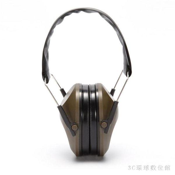 隔音耳機IPSC戶外競技射擊俱樂部防噪音戰術耳罩CS打靶降噪隔音頭戴式耳機 LH6671【3C環球數位館】