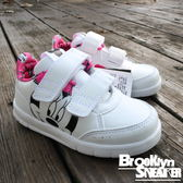 Adidas Disney Minnie 米妮 白粉紅 小童  黏帶 (布魯克林) 2017/10月 BY2644