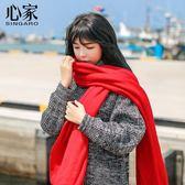 圍巾冬季韓版學生針織軟妹情侶围脖