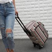 拉桿包 拉桿包女大容量拉桿袋輕便旅行包旅行袋手提包拖拉包行李包男 - 歐美韓熱銷