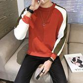 長袖T恤男秋季男士韓版衛衣青年春秋打底衫潮流衛生衣男裝秋裝衣服