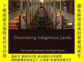 二手書博民逛書店Discovering罕見Indigenous Lands: T