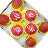 【果之蔬-全省免運】日本青森蜜富士蘋果4顆(250克±10%/顆)+高山梨4顆(600克±10%/顆)共8顆(禮盒組)