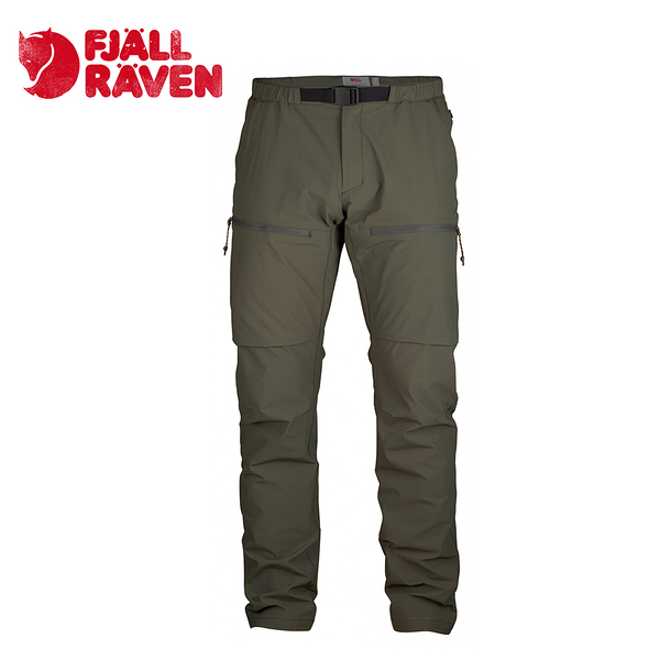 瑞典 Fjallraven High Coast Hike Trousers 休閒長褲 男款 高山灰 #81523