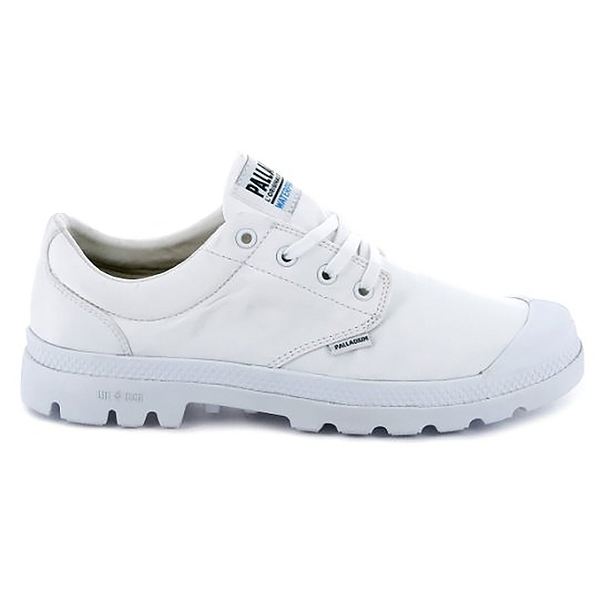 Palladium PAMPA OX PUDDLE LTWP 男女款 防潑水低統靴 76116100 白