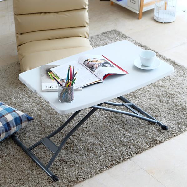日系 簡約 防水 多段 升降桌 萬用桌 電腦桌 摺疊桌《YV9117》快樂生活網