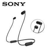 SONY無線藍牙入耳式耳麥WI-C200-B黑