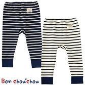 兒童內搭褲Bon chou chou條紋圖案