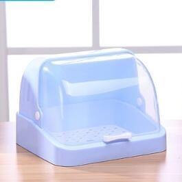 杯架 防塵放玻璃杯子收納盒家用茶杯架瀝水托盤置物掛架塑料廚房放碗架【快速出貨八折特惠】
