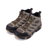 MERRELL MOAB 2 MID GORE-TEX 防水寬楦登山鞋 棕 ML-06057W 男鞋