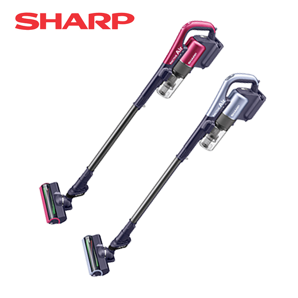 [SHARP 夏普]手持無線吸塵器標配 星空紫/魔力紅 EC-AR2TW-V/R