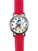 【卡漫城】 出清特價 白雪 公主 皮革 手錶 小鳥 桃紅 ㊣版 Snow White 女錶 卡通錶 兒童錶 迪士尼