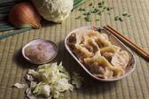 OH霸手工大水餃-特選梨山鮮甜高麗菜豬肉鮮蝦水餃