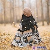 春季波西米亞民族風低保和撞色彩塊針織大開衫品牌【櫻桃菜菜子】