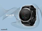 【時間道】GARMIN -預購- fenix® 5S 進階複合式戶外GPS腕錶-沉穩黑(010-01685-42)免運費