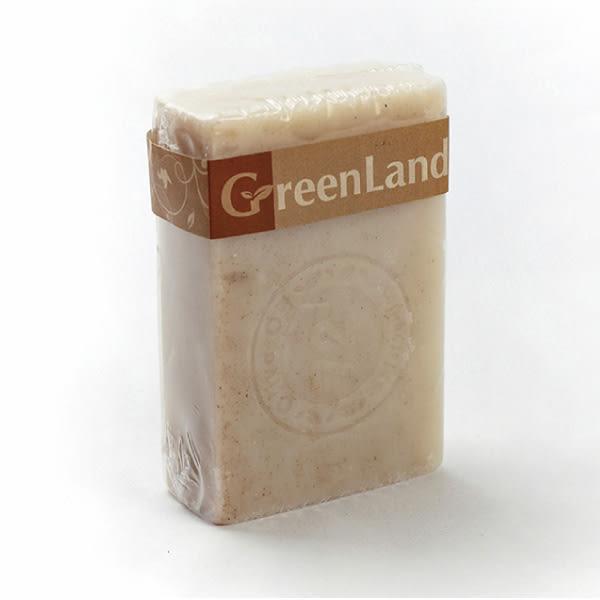 GreenLand 大綠地核桃去角質馬賽皂120g 【櫻桃飾品】【23129】