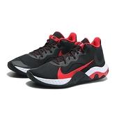 NIKE 籃球鞋 RENEW ELEVATE 黑紅 輕量 緩震 男 (布魯克林) CK2669-003