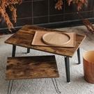 日式禪風折疊桌(中60X40)【JL精品工坊】桌子 茶几桌 和室桌 電腦桌 折疊桌