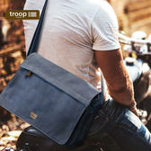 【TROOP】經典品格CLASSIC單肩包/TRP0241BL(小)