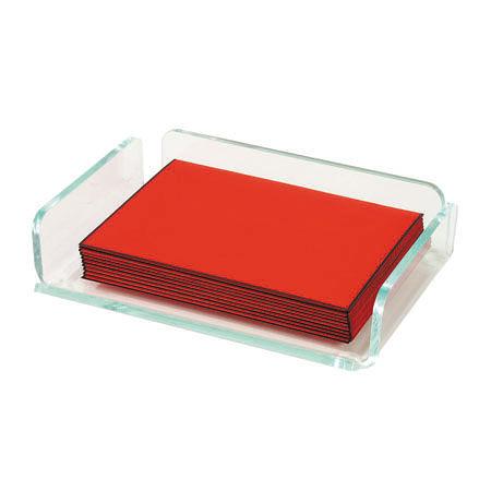 迪多Deflect-o 冰炫綠便條紙架 41390 壓克力/便條紙架
