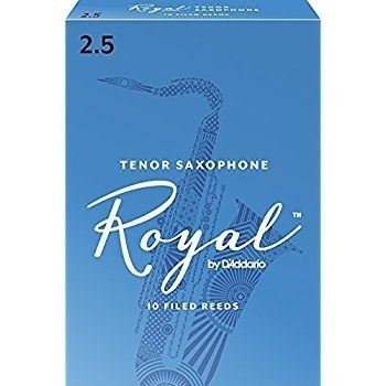 凱傑樂器 ROYAL 次中音 TENOR SAX 10片裝 薩克斯風 竹片 2號半