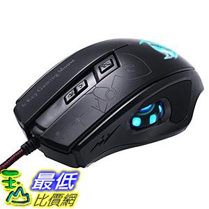 [美國直購] Wired PC Gaming Mouse ZENBLU High Precision Laser Led Optical USB Computer Mouse 滑鼠