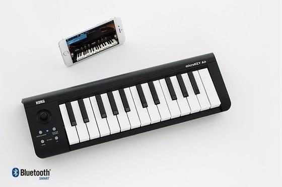 【金聲樂器】KORG MICROKEY 2 AIR 37 分期零利率 藍芽 傳輸 無線 MIDI控制