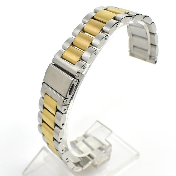 槍魚錶帶 雙色銀金CASIO【NEA20】