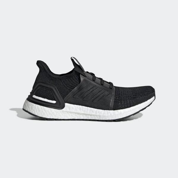 ISNEAKERS ADIDAS ULTRA BOOST 19 黑 白 編織 慢跑鞋 運動鞋 女款 G54014