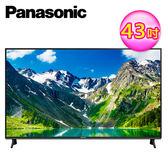 送基本安裝-【Panasonic 國際牌】43吋 4K UHD 液晶電視 TH43GX750W+視訊盒