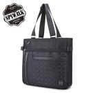 背包購物袋 STATE POLO型男前插袋配皮格紋大容量手提後背三用包NO2899-2