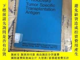 二手書博民逛書店RRCR.Tumor罕見Specific Transplanta