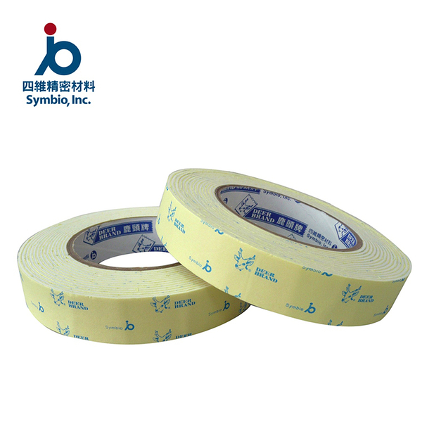 泡棉 鹿頭牌 24mmx5y 泡棉膠帶-3入【文具e指通】量販.團購