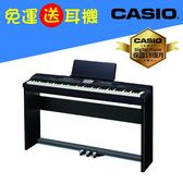 CASIO原廠直營門市 Privia 數位鋼琴PX-360MBK黑色(含耳機)