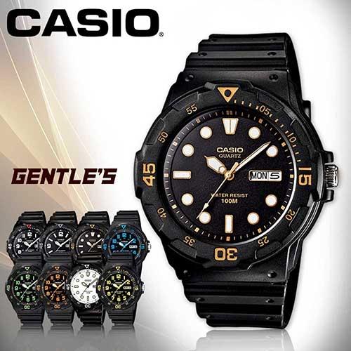 CASIO手錶專賣店 卡西歐  MRW-200H-1E 男錶  防水100米 造型指針 星期、日期顯示  塑膠錶帶