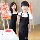 兒童圍裙 客制Logo畫畫衣定做小孩防水幼兒園美術繪畫圍裙印字印圖 樂活生活館