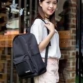 新款帆布背包潮日韓版初中生校園小清新簡約高中學生書包女雙肩包