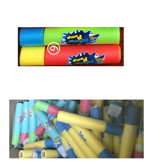 水槍 針筒式抽式海綿水槍 水砲 沙灘 游泳池 玩水 夏天 戲水 童玩節 水戰(短)