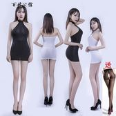 夜店主播情趣內衣緊身透視包臀連衣裙OL秘書制服角色扮演激情套裝