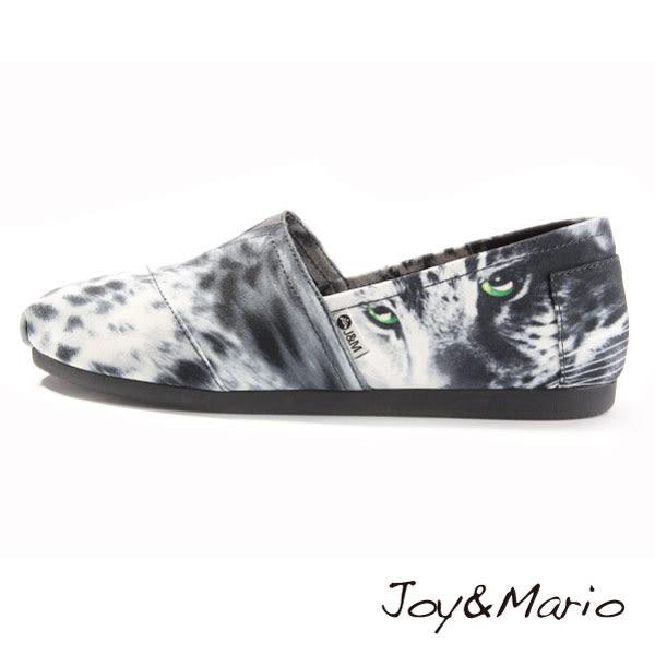 【Joy&Mario】深灰豹紋休閒鞋 - 61807W DK GREY