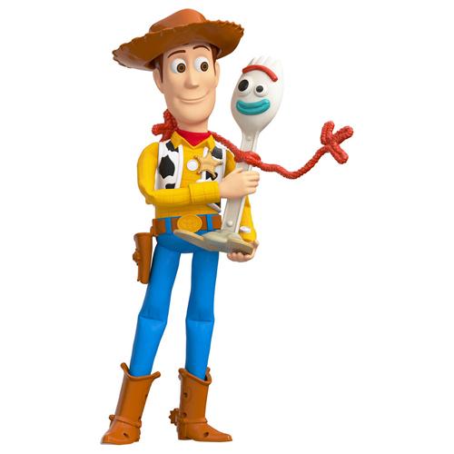 特價 Disney PIXAR 玩具總動員4 胡迪+叉奇好朋友公仔_DS15332