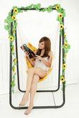 【韓式情人】鞦韆吊椅(室內外皆適用)-庭園坐椅/休閒椅/躺椅/大人小孩都適合/城市休閒