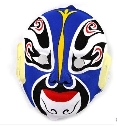 盛泉中式京劇面具 變臉專用道具 植絨